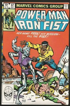 Power Man and Iron Fist #97 Marvel Comics VF-/VF 1983  CHAN-- FERA
