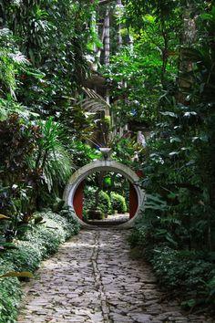 Edward James Surrealist Garden, Xilitla San Luis Potosi, Mexico