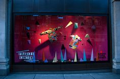 Selfridges Window by Silvia Baz, via Behance