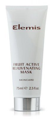 Elemis Fruit Active Rejuvenating Mask - 75ml by Elemis. $42.00. Elemis Fruit Active Rejuvenating Mask. Packed with active extracts of mouth-watering Strawberry and Kiwi fruit, this creamy mask restores the glow to dulled complexions. A tantalizingly fruity pick-me-up for tired complexions, this mask also makes the perfect beauty flash treatment before special occasions.