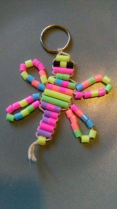 Nomin Hama-helmi-sudenkorento avaimenperä.