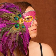 Create your own Mardi Gras masks