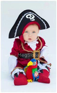Pirate baby! {REPIN} and {FOLLOW} us! www.blissfulbabynurse.com
