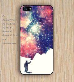 iPhone 5s 6 case Artificial Nebula colorful phone case iphone case,ipod case,samsung galaxy case available plastic rubber case waterproof B509