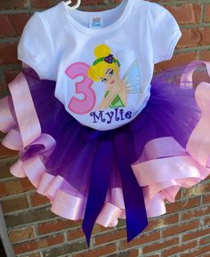 A personal favorite from my Etsy shop https://www.etsy.com/listing/223290324/birthday-tutu-outfits