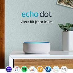 All-new Echo Dot Gen) - Smart speaker with clock + Alexa - Sandstone Fabric Radios, Ipod Nano, Amazon Echo, Amazon Fr, Speaker Bluetooth, Music Speakers, Hue, Smart Home Switches, Kindle
