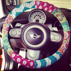 Girly Steering Wheel Cover by TsquaredCreations1 on Etsy, $17.00