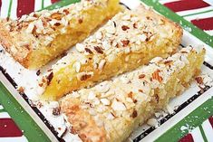 Swedish Almond Cake, need preparation. Swedish Almond Cake, need preparation. Just Desserts, Delicious Desserts, Dessert Recipes, Yummy Food, Swedish Recipes, Sweet Recipes, Swedish Almond Cake Recipe, Norwegian Recipes, Scandinavian Almond Cake Recipe