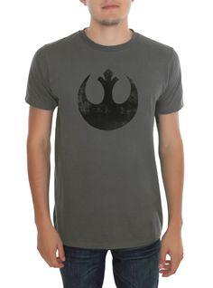 Star Wars Faded Rebel Alliance Logo T-Shirt   Hot Topic