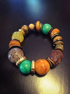 Buddhist Summer Buddha Bead Stackable Stretch by DivineEminence