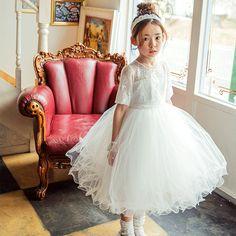 Penelope Tulle Dress - White