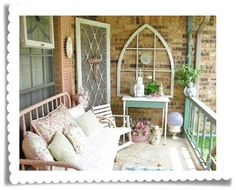 Porch verandah cottage shabby chic