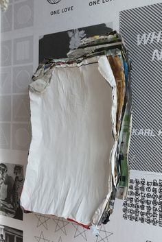 Klara Lidén Untitled (Poster Painting), 2014 Paper, glue