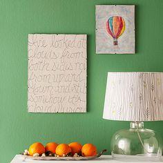 10 DIY para la decoración de pared | Decorar tu casa es facilisimo.com