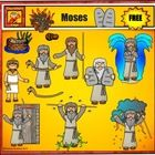 This Moses Clip Art set is free for personal use or single classroom teacher. If you want to incorporate them into products, please, purchase the c...