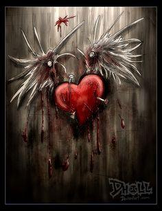 Love Bird by dholl.deviantart.com on @DeviantArt
