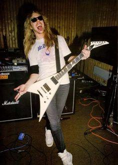 James Hetfield 1983 | James Hetfield