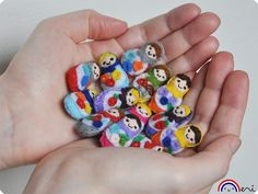 Mini Felt Matryoshka Russian Dolls