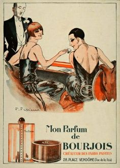 BOURJOIS perfume advert from the 1920s