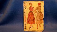 Vintage Simplicity Pattern  3075  Dress   Size 11 by DellaNora