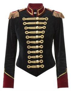 Green Military Jacket | Pinky Laing | Avenue32 - Michael Jackson-ish!