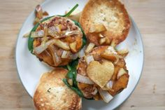 Surprise your significant other this weekend with these delicious Turkey Burger sliders with caramelized onions and apples.