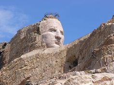 crazy horse monument   view of the Crazy Horse Memorial