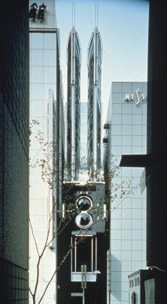 建築家高松伸が主宰する株式会社高松伸建築設計事務所のウェブサイト