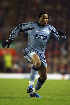 Didier Drogba of Marseille in 2004.