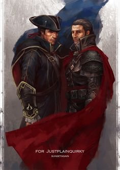 Shay Patrick Cormac & Liam O'brien from Assassin's Creed Rogue