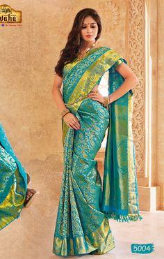 Vivaha Branded Wedding Silk Saree VBBS5004
