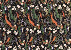 Papier japonais au motif floral composé d'iris violet, de fleurs blanches et rouges sur fond noir et doré. Ce papier rappelle les laques décoratives japonaises. Disponible dans l'un de nos 31 magasins L'Éclat de Verre ou sur  notre site web  http://shop.eclatdeverre.com/PAPIER_JAPONAIS_IRIS_NOIR-P5516 #eclatdeverre #iris #papier #papierjaponais #fleur #motifs