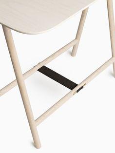 Spade Trestle Table - Shop - L'ArcoBaleno: