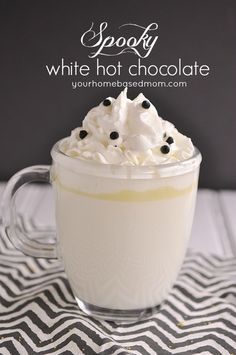 Spookie White Hot Chocolate