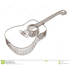 Electric Guitar Coloring Page For Adults
