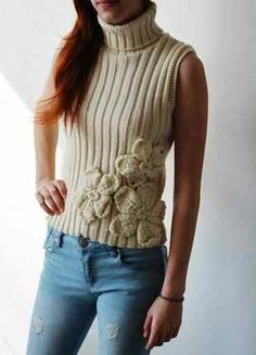 Peplum, Turtle Neck, Sweaters, Tops, Women, Fashion, Moda, Women's, Sweater