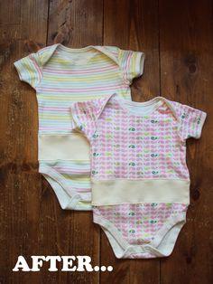 'Так, Зо ...': переделать пятницу: 4 способа перестроить одежды младенца