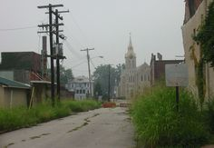 Cairo, Illinois. One of the poorest. Communities in the US ~ now mostly abandoned.