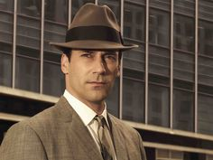 Don Draper, the stone-cold, brilliant swagger captain of the Mad Men series.