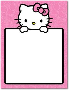 Thank You Cards - Hello Kitty: Simple Sign by Tiny Prints Hello Kitty Invitation Card, Hello Kitty Birthday Invitations, Hello Kitty Rooms, Hello Kitty Themes, Hello Kitty Pictures, Kitty Images, Hello Kitty Backgrounds, Hello Kitty Wallpaper, Kitty Party