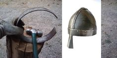 How to make a spangenhelm (with very few tools)