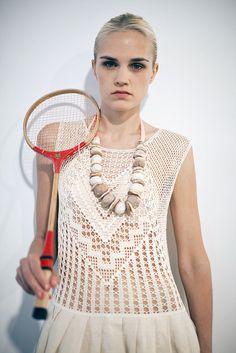Vestido Crochê. / Crochet Dress.