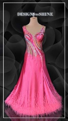 4c6a669ad95d B16141 Pinky Promise | Designs to Shine Ballroom Gowns, Dance Dresses, Dance  Wear,