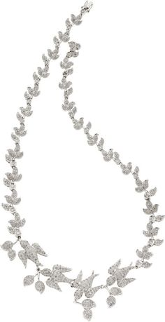 Diamond, White Gold Necklace. ... Estate JewelryNecklaces | Lot #58471 | Heritage Auctions