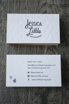 Jessica Little Photography Rebrand