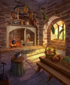 anime background scenery fantasy game kitchen mermaids disney backgrounds choices