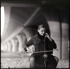 ...playing cello !!!