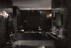 Black Bathroom - Fantini Rubinetti