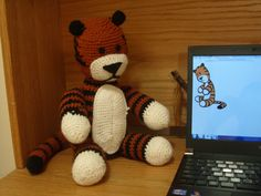 The Joy of Crocheting (A Hobbes Doll) | stone soup  Mom... HOBBES