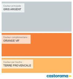 Castorama nuancier peinture mon harmonie peinture sable for Peinture orange castorama
